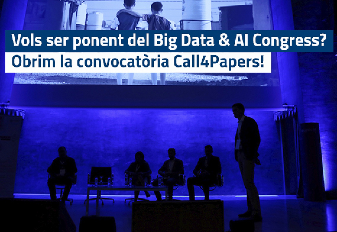 Oberta la convocatòria Call4Papers del Big Data & AI Congress